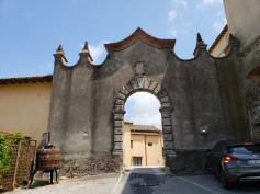 Castello di Casigliano - our lodging for the night (and our parking spot) :)