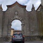 will the car fit through the castle gates? :)
