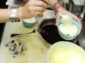 mascarpone and whipped cream!
