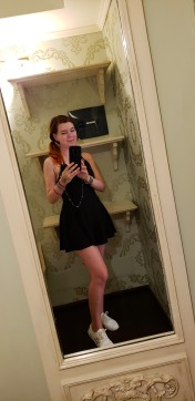 walk-in closet selfie :)