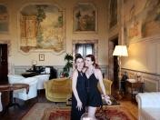 with the amazing Martina, the hotel manager. Marina and Martina!!!