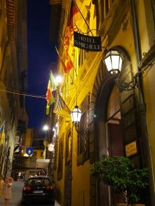 Hotel San Michele entrance