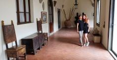 with Patrizia, the hospitality manager