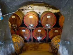 the wine cellar/crypt!