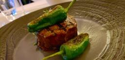 Nick & I split this Irish Black Angus Beef Fillet (OMG!!! Amazing!) My first time having Irish beef