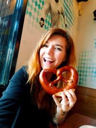 I like my pretzels :)