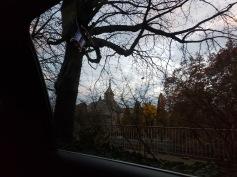 my first glimpse of Zurich