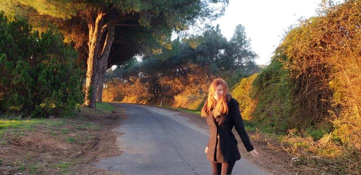 Via Aurelia - Ancient Roman road dating to 200 BC!