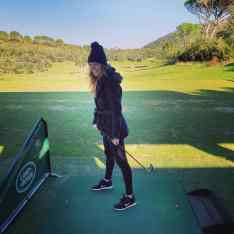 Failing at golf at Argentario Golf Resort & Spa