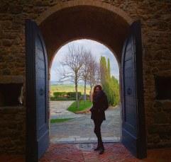 Castello Banfi gates!!