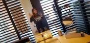 another bathroom selfie? Yup :)