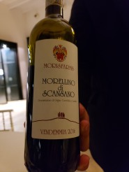 amazing local Maremma wine