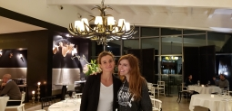 with Federica, our lovely server/host
