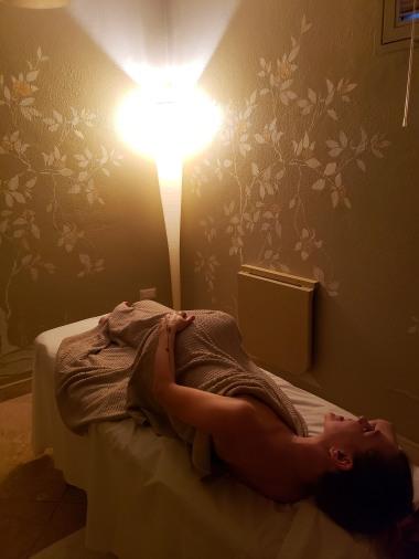 had a prenatal massage! It was so nice