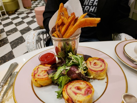 the most fab croque monsieur ever!!!