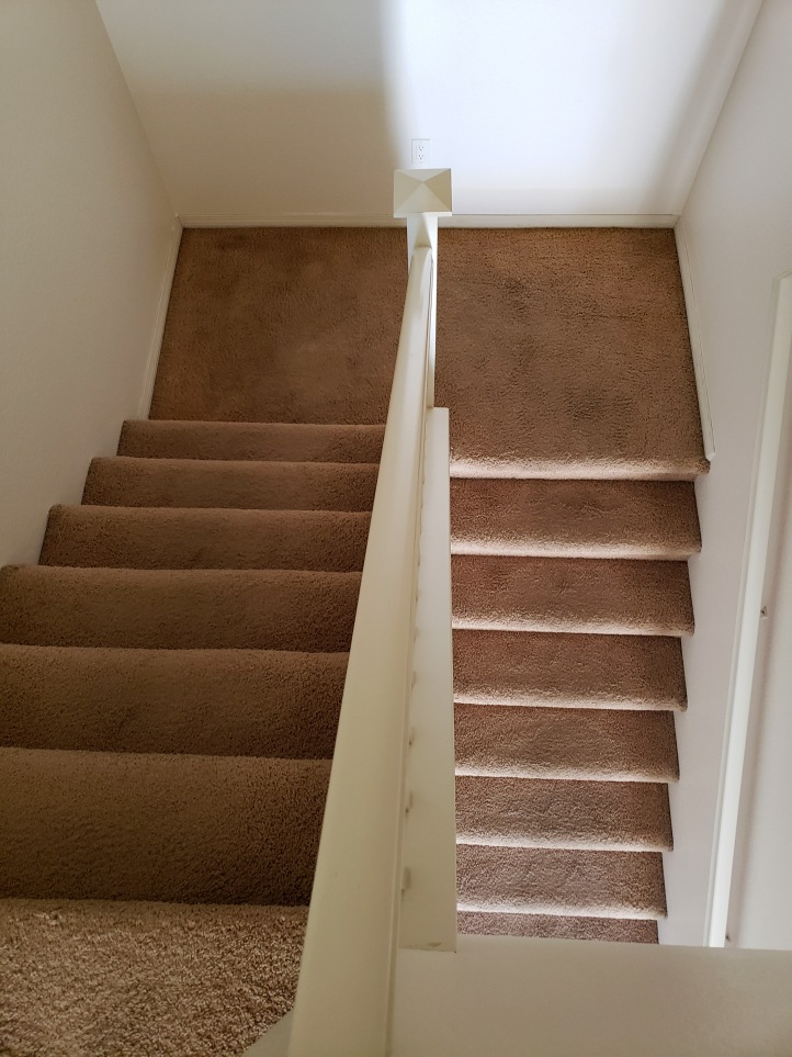 stairs - before - above