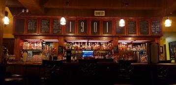 such a beautifully restored bar!!