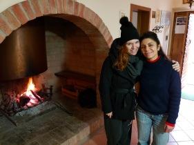 with Elena